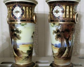 Noritake vases! Stunning!