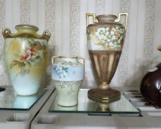 Nippon vases
