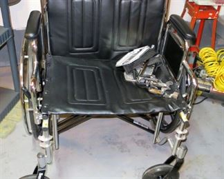 Drive wheelchair, large sized.