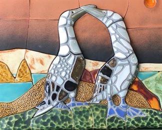 Taracotta mosaic signed picture https://ctbids.com/#!/description/share/191651