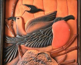 Taracotta mosaic picture https://ctbids.com/#!/description/share/191652