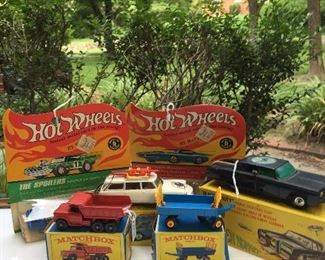 VINTAGE HOT WHEELS AND MODEL CARS