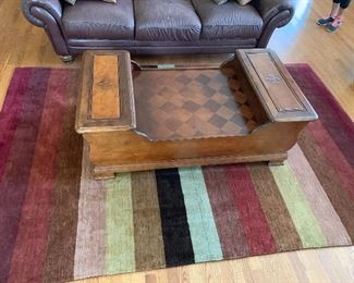 Crate and Barrel rug 80% wool size 9'6""