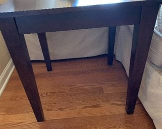 Wood Side Table