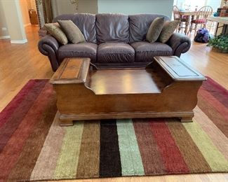 Unusual, interesting Coffee Table: Side View