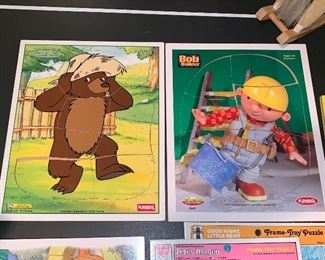 Playskool puzzles