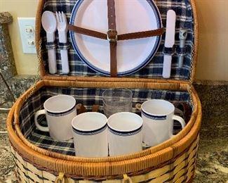 Picnic basket- Ravinia anyone?