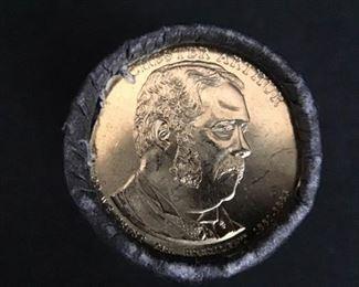 $150 of President Chester Arthur dollar coins https://ctbids.com/#!/description/share/189912