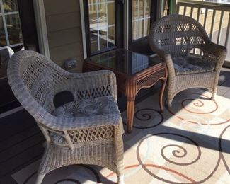 Wicker chairs and table https://ctbids.com/#!/description/share/189838