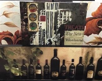 Abstract and wine paintings https://ctbids.com/#!/description/share/189863