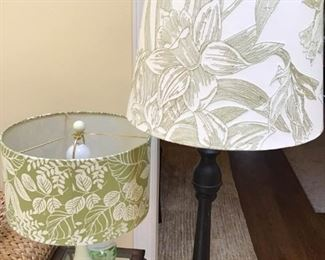 Leaf printed lamps https://ctbids.com/#!/description/share/189860