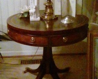 End table round