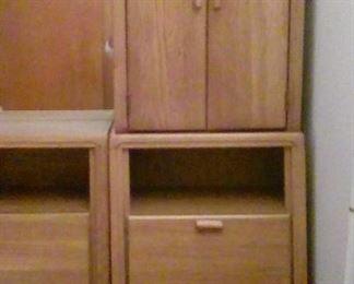 headboard wall storage unit - right side
