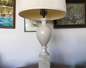 Alabaster Lamp