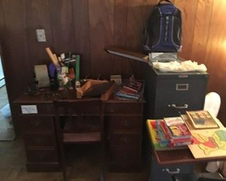 Desk matching chair - 3 Drawer File Cabinet