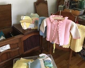 Knitted Baby and Toddler items