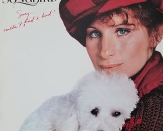 Barbara! I couldn't resist her and the puppy as a first image for the sale. We have an eclectic mix of Record Albums from Rock and Roll, Jazz, Country, Christmas,  Classical, Swing, Folk and some I'm not sure how to classify.