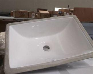Brand New In Box White Baxter Sink