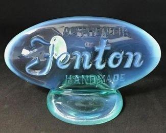 Fenton Plaque