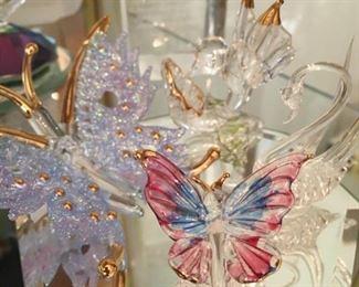 Crystal butterflies...