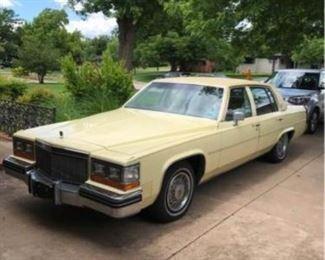 1980 Cadillac deVille Sedan