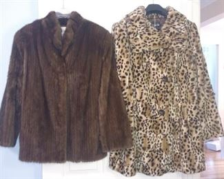 Mink jacket has sold  and faux fur jacket is still available