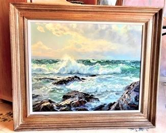 Charles Vickery Oil Painting.
