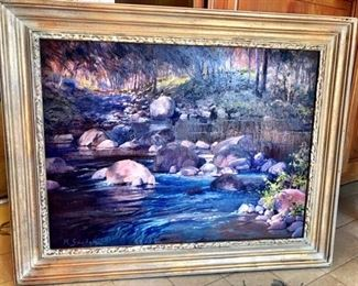 Martha Saudek Oil Painting