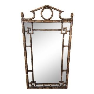 Regency Bamboo Mirror