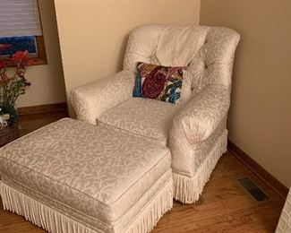Living Chair with ottoman
