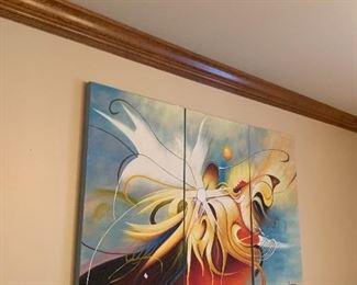3 piece artwork