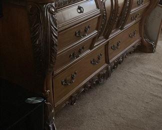 Dresser — part of bedroom set
