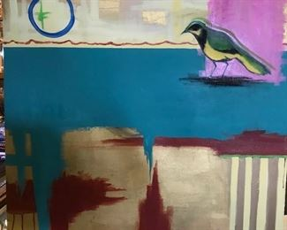 Marcy McChesney painting