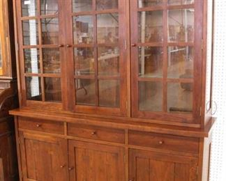 "LIKE NEW SOLID Cherry ""Stickley Furniture"" 6 Piece Mission Style Breakfast Set  Auction Estimate $1000-$2000 – Located Inside"