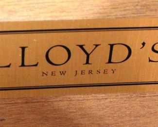 """Contemporary """"Lloyd's Furniture"""" Paint Decorated 3 Drawer Chest  Auction Estimate $100-$300 – Located Inside"""