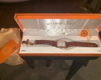 Stuhrling watch