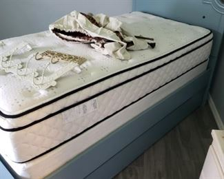 Nice Twin Size Trundle Bed and set