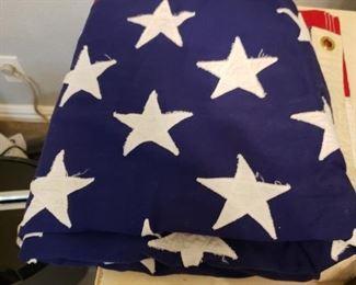 Hand sewn flag