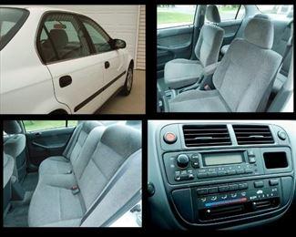 1997 Honda Civic.