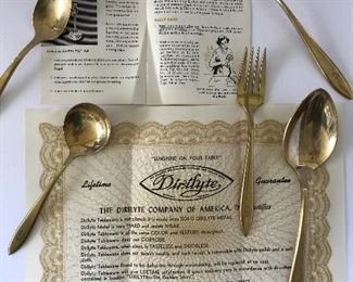 Vintage Dirilyte flatware set