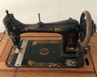 Antique Minnesota Model A Sewing Machine