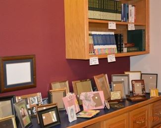 Picture Frames and Books!!!