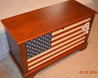 Lane  American Flag Cedar Chest