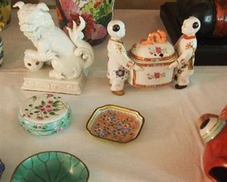 Foo Dogs, Oriental Decor and more