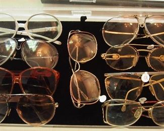 Designer Sun Glasses inc. Chanel, Carrera Porsche, Cazal, Gucci and more