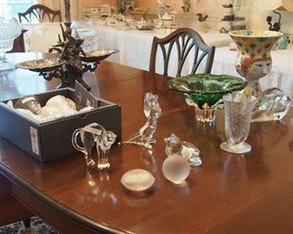 Baccarat, Lalique, Waterford and Art Glass