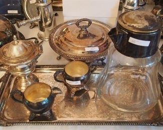 Lots Misc. Silverplate