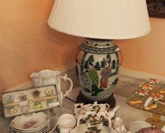 So many pretty little things--many mid c. pieces china