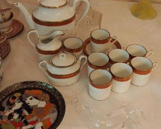 Mid C. Demitasse set