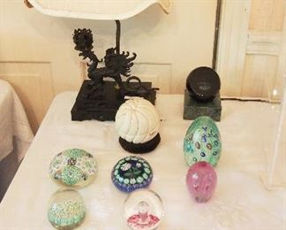 Paperweight collection inc. Perthshire, Orient and Flume and more